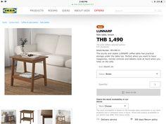 Ikea Side Table, Home Living Room, Storage, Purse Storage, Living Room, Living Rooms, Guest Room