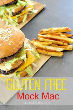#glutenfree mok big mac using udi's organic hamburger buns jojoandeloise.com