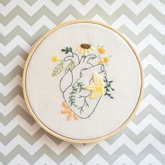 Floral Embroidery Patterns, Learn Embroidery, Hand Embroidery Stitches, Modern Embroidery, Embroidery Hoop Art, Hand Embroidery Designs, Crewel Embroidery, Hand Stitching, Broderie Simple