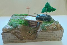 #militarymodeland diorama