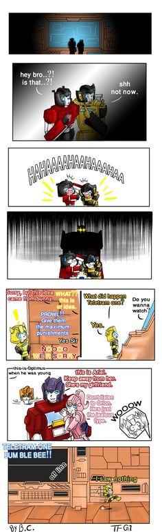 Optimus - Old hidden files- by BloodyChaser on DeviantArt
