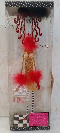 """DOLLY MAMA'S BY JOEY FOR SILVESTRI """"HIGH MAINTENANCE""""  16"""" STANDING FIGURE NIB"""