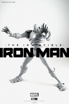 3A Toys - Iron Man Toy by Ashley Wood3