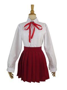 Vicwin-One Himouto! Umaru-chan Umaru Doma Uniform Cosplay Costume -- For more information, visit image link.