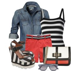 Dressing ideas from May 2015. Perfect #spring #outfit.