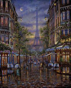 Robert FINALE ~ Summer in Paris