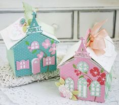 Church Treat Boxes by Melissa Phillips for Papertrey Ink (February 2016)