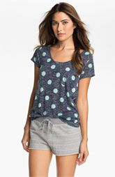 Two by Vince Camuto Cap Sleeve Pocket Tee