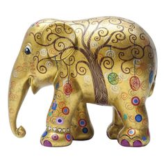Elephant Parade | 10 cm Tree of Life | Elephant Conservation | Collectible | Hand Painted | www.homearama.co.uk