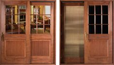 Custom Lift and Slide Doors sliding doors wood to give off antique look. This is the door for the bathroom that Gaston used a lot. Gaston, Wood Doors, Sliding Doors, Stage, Layout, Bathroom, Antiques, Design, Home Decor