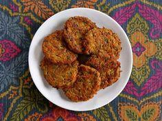 Curry Vegetable Latkes