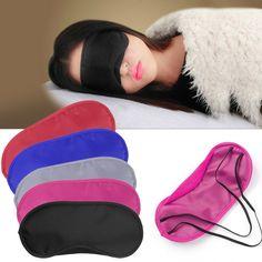 Reise Schlaf Rest Schlaf-beihilfen Augenmaske Beschattung Komfort Augenbinde Schild