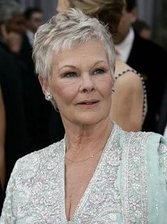 judi dench   Oscars 2006    As always, a class act with piercing icy-blue eyes.