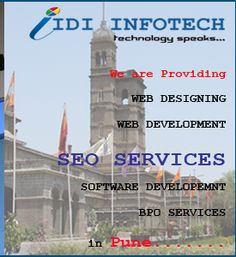 IDI Infotech is a leading SEO Company in India, offering best seo services in Pune, Maharashtra. We are the provider of Best SEO and Top SEO Services. Pune, Seo Packages, Best Seo Services, Best Web Design, India, Seo Company, Search Engine Optimization, Software, Marketing