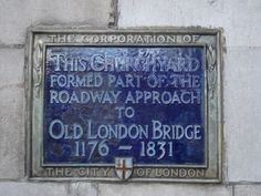 APPROACH TO OLD LONDON BRIDGE,