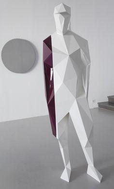 xavier veilhan art | xavier veilhan Striped Man
