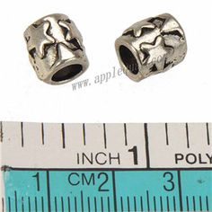 Zinc Alloy Round Star Large Hole Beads,Plated,Cadmium And Lead Free,Various Color For Choice,Approx 8.5*9mm,Hole:Approx 5mm,Sold By Bags,No 010026