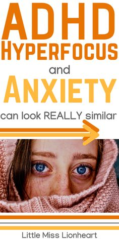 ADHD and Anxiety look a lot alike and hyperfocus can make the subtle differences even more challenging to identify. Most people have no idea that there's even a link between hyperfocus and anxiety! But there is an it's an important one to know about. #ADHD #ADHDAnxiety Causes Of Adhd, Adhd Facts, Adhd Strategies, Adult Adhd, Medical Information, Learning Disabilities, Dyslexia, Adult Children, Ocd
