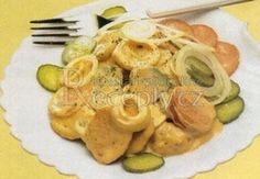 Marinované buřty Tofu, Food And Drink, Chicken, Breakfast, Diet, Morning Coffee, Cubs