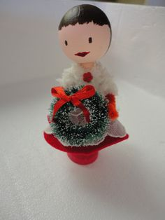 mom's clothespin doll  2011
