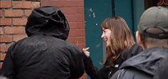 Fifty Shades Darker bts Jamie Dornan and Dakota Johnson