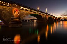London Bridge at Night http://ift.tt/1PwaAJe dusklandscapenight Lake…