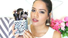 """Makeup Brushes explained or makeup brushes for beginners in India Let's chat in the comments xx DON'T FORGET TO SUBSCRIBE & CLICK """"SHOW MORE""""   About Me: I am Debasree a beauty vlogger at  http://www.youtube.com/c/debasreebanerjee  and blogger at http://ift.tt/1RRR0WF You can holler me anytime @debasreee on my Instagram and Twitter.  Stalk me here:  Facebook http://ift.tt/1jalZSY Twitter https://twitter.com/debasreee Instagram http://ift.tt/1Q37Tgp Email debasree269@gmail.com Snapchat…"""