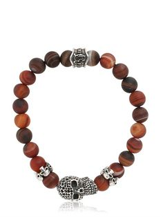 CANTINI MC FIRENZE - CROMO AGATE BRACELET - LUISAVIAROMA - LUXURY SHOPPING WORLDWIDE SHIPPING - FLORENCE