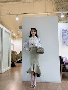 IU (IU's stylist update) #Hotel_Del_Luna #tvN #LeeJiEun #YeoJinGoo Luna Fashion, Kpop Fashion, Womens Fashion, Korean Winter Outfits, Korean Outfits, Kpop Outfits, Mode Outfits, Korean Fashion Trends, Mode Inspiration