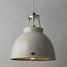 Buy Original BTC Titan Ceiling Light, Putty, Size 1 online at JohnLewis.com - John Lewis