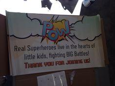 Superhero Fundraiser