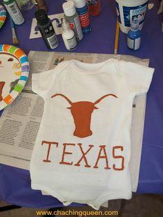 Baby Shower Activity Idea – Decorate Baby Clothes #crafts #babyshower