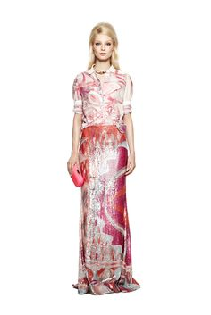 Emilio Pucci Resort 2012 Collection Slideshow on Style.com