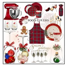 Food Lover's Gift Guide by lemon-limelight on Polyvore Winter Magic, Interior Decorating, Interior Design, Kitchenaid, Gift Guide, Strawberry, Lemon, Interiors, Street