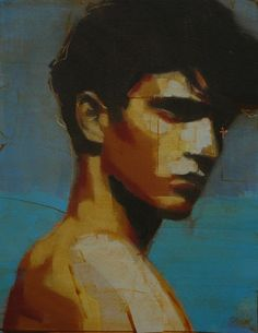 """mark horst """"what have I become? no. 16"""" oil on canvas. 18"""" x 14"""" 2012                                                                                                                                                                                 More"""