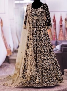 Anarkali Salwar Kameez Designer Bridal Indian Dress Bollywood ethnic party 008 #Unbranded #SalwarKameez