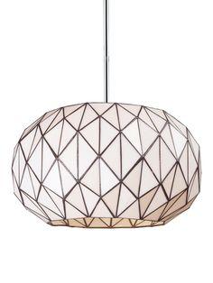Tetra 3-Light Pendant by Artistic Lighting at Gilt