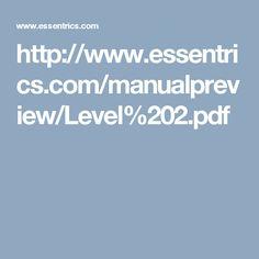 http://www.essentrics.com/manualpreview/Level%202.pdf
