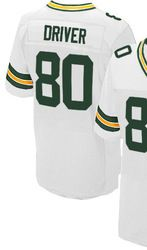 """$78.00--Donald Driver Blue Elite Jersey - Nike Stitched Green Bay Packers #80 Jersey,Free Shipping! Buy it now:click on the picture, than click on """"visit aliexpress.com"""" In the new page."""