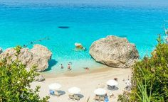 Kalamitsi beach, Lefkada Island, Greece