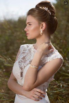 wedding hair accessories bridal hair accessories by Ayajewellery, $114.00