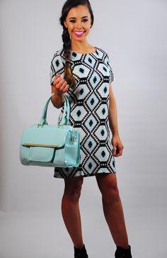 Print Shift, Aztec, Casual, Accessories, Dresses, Fashion, Vestidos, Moda, Fashion Styles