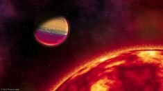 Short-Period Hot Jupiter Discovered Circling HAT-P-68 | Astronomy | Sci-News.com Solar Mass, Infinite Universe, Solar System Planets, Dwarf, Astronomy, Cosmos, Period, Hat, News
