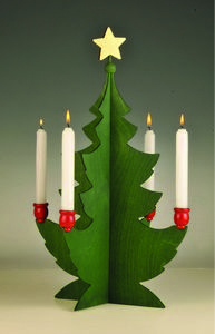 Swedish Christmas Tree Candleholder---have one, it was my grandmother's...