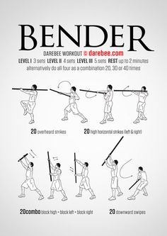 Bo Staff Workouts