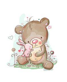 Cute illustrations - Sei insopportabilmente carino di RachelleAnneMiller su Etsy