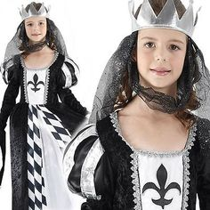 #Girls #chess queen tudor medieval fairytale alice #wonderland fancy dress costum,  View more on the LINK: 	http://www.zeppy.io/product/gb/2/232200827023/