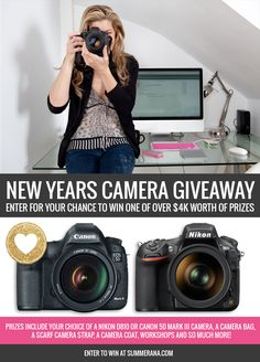 Summerana – Photoshop Actions for Photographer's New Years Camera Giveaway | Summerana™ - Photoshop Actions for Photographers