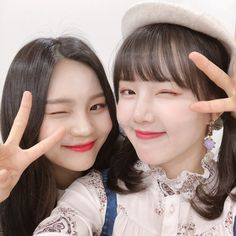 Gfriend-Yerin & Umji MBC King of Masked singer Bubblegum Pop, Extended Play, South Korean Girls, Korean Girl Groups, Gfriend Profile, Kim Ye Won, Cloud Dancer, Entertainment, G Friend