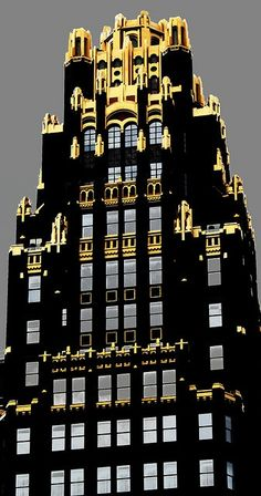 Bryant Park Hotel (formerly American Radiator Building), New York City, built in the 1920s